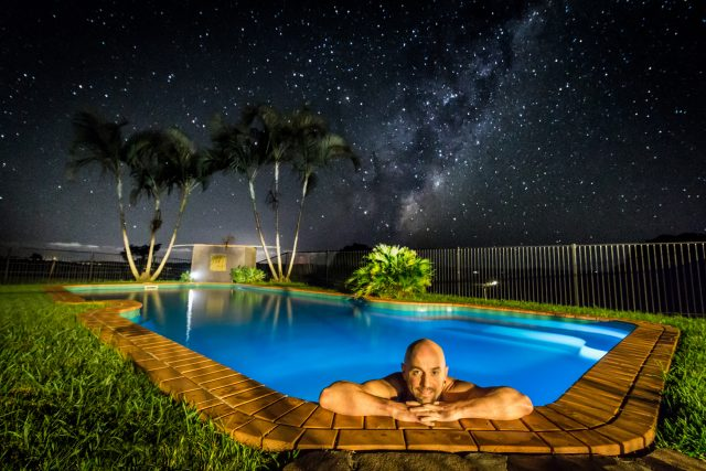 Tregeagle Pool Milky Way